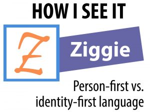 Blogger Ziggie's identifier for the How I See It series includes his name, the series name and a stylized letter Z.